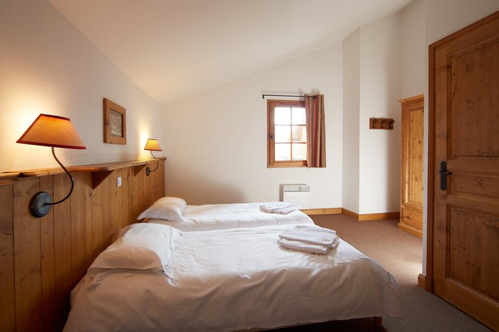 Chalet Authentique  Les Menuires - chambre twin - S.Chapuis2012
