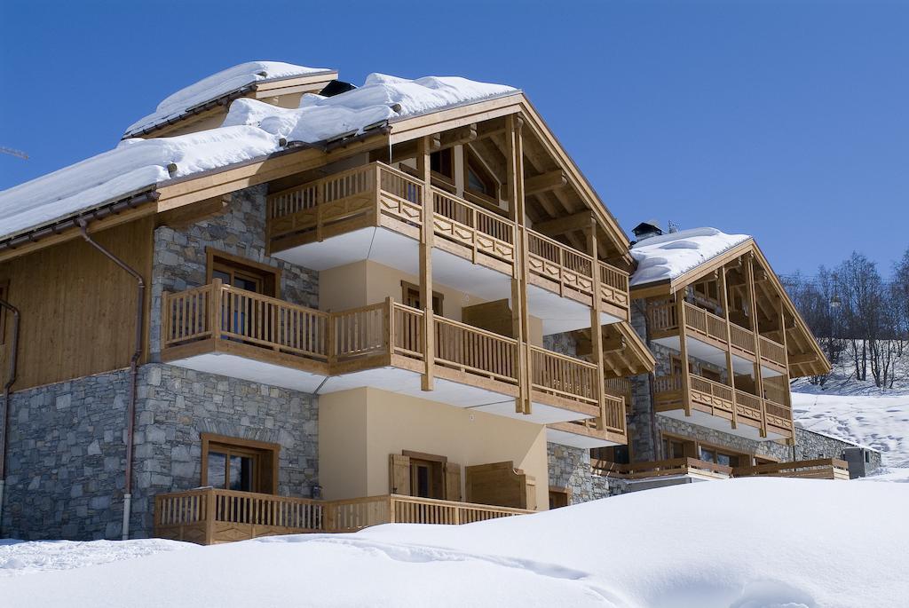 les chalets du gypse martin de belleville skiing