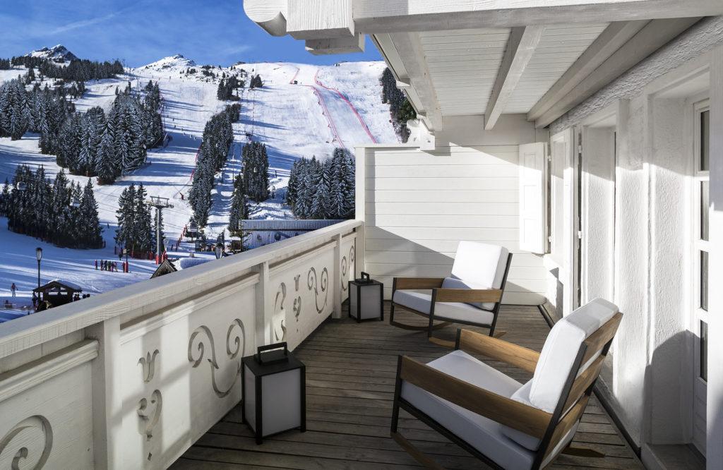 White 1921 Courchevel_Guestroom Balcony