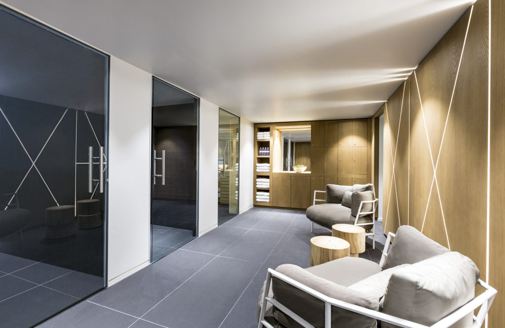 White 1921 Courchevel_Wellbeing Area