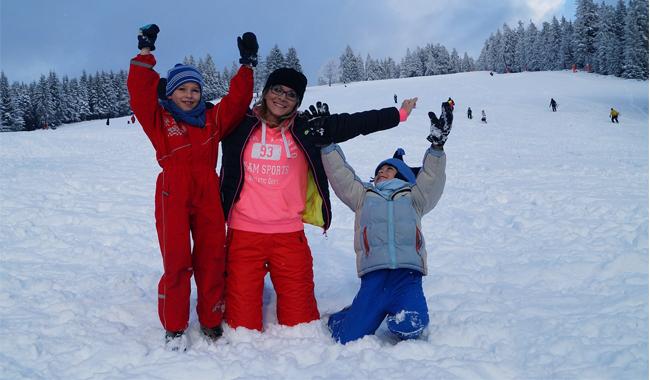 Family Ski Holidays In France