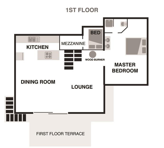 3 - Chalet Ardoise in Chamonix - First Floor