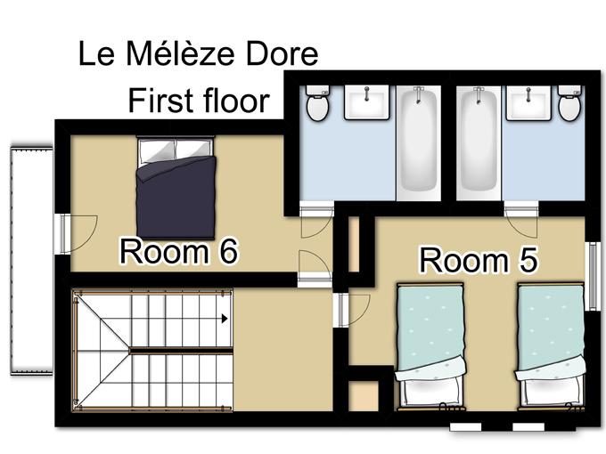Chalet Le Mélèze Doré in Meribel (6)