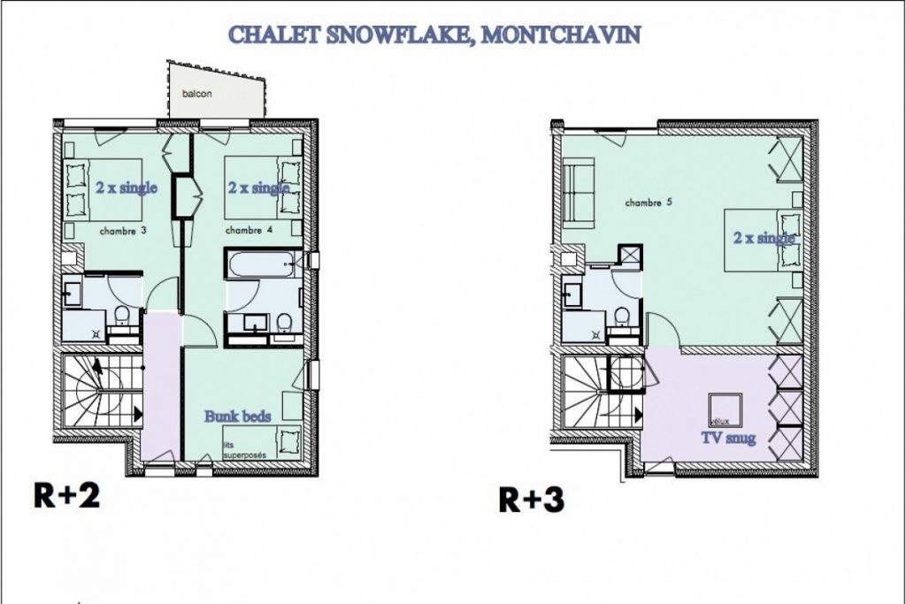 Chalet Snowflake in La Plagne (21)